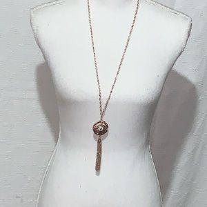 NWT Ashely Cooper Collection long accent necklace